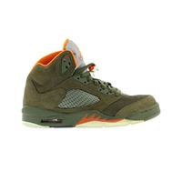 Air Jordan Men's 5 V Retro LS Army Olive - 2006 Release