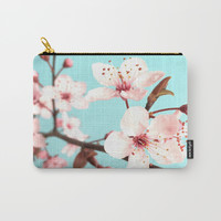 Spring Flowers Carry-All Pouch by Whimsy Romance & Fun