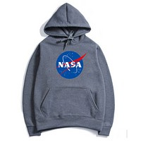 Nasa NASA series of letters a Hoodie Dark gray