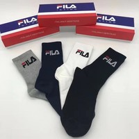 Fila Woman Cotton Knitwear Socks Stockings