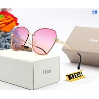 DIOR Fashion Women Chic Summer Sun Shades Eyeglasses Glasses Sunglasses 1#