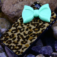 Iphone 4 4s case cover,bowknot luxury iphone 4 4s,Luxury iphone4 4s