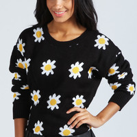 Lisbeth Daisy Patterned Jumper