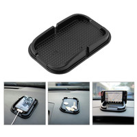 1pcs Black Car Dashboard Sticky Pad Mat Anti Non Slip Gadget Mobile Phone GPS Holder Stand Interior Items Accessories Hot !!