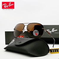 Ray-Ban 2018 men and women models polarized color film polarized sunglasses frog mirror sunglasses F-A-SDYJ #1