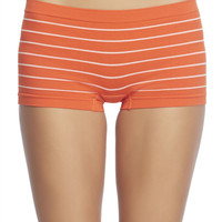 Striped Seamless Boyshorts | Wet Seal
