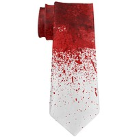 Halloween Decapitation Costume All Over Neck Tie