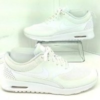 Nike Air Max Thea Women's Athletic Shoes, White Size 9