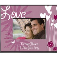 Heart and Flowers Frame - Love