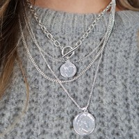 Just My Night Necklace: Silver