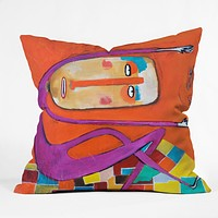 Robin Faye Gates Balance 1 Outdoor Throw Pillow
