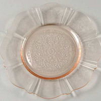 MacBeth Evans In American Sweetheart Pink Depression Bread and Butter Plate
