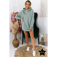 Easy Way Out Oversized Hoodie (Light Green)