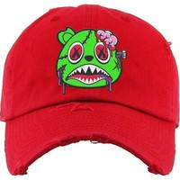 Zombie Baws Red Dad Hat