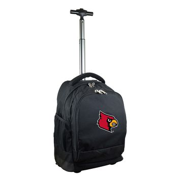 Louisville Cardinals Wheeled Premium Backpack