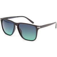 Blue Crown Keyhole Sunglasses Matte Black One Size For Men 22144718201