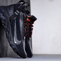 Nike REACT LW WR Mid ISPA Men Fashion Boots fashionable Casual leather Breathable Sneakers Running Shoes Sneakers
