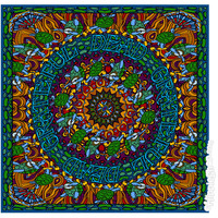 Grateful Dead - Terrapin Bandana on Sale for $7.95 at The Hippie Shop