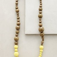Dipped Neon Necklace by Elk Yellow One Size Necklaces