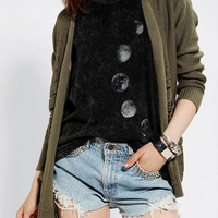 Urban Outfitters - Sparkle & Fade Slashed Open Cardigan