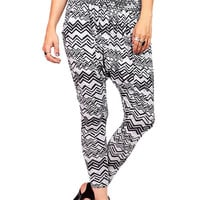 Puzzled Harem Pants