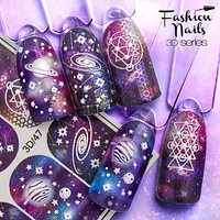 Fashion Nails - 3D 47 Water Decals