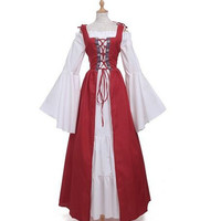 Free Shipping Woman's Renaissance Medieval Gothic