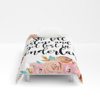 Lost in Wonderland Comforters by Peggie Prints