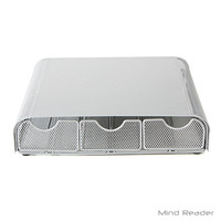 Mind Reader Triple Drawer Mesh K-Cup® Coffee Pod Drawer, Silver TRY3PCMESH-SIL - JCPenney