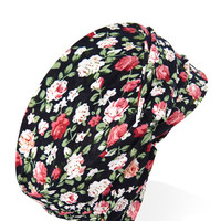 Whimsical Floral Knotted Headwrap