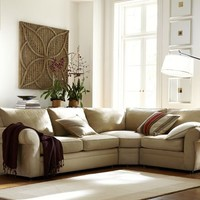 Pearce 3-Piece Sectional with Wedge - everydaysuede™
