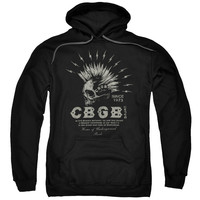 CBGB - ELECTRIC SKULL PUNK ROCK HARDCORE Hoodie Sweatshirt