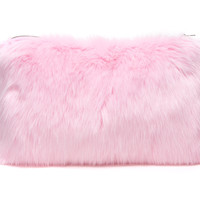 Wild Things Clutch Baby Pink