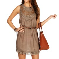 rochet Belted Tunic