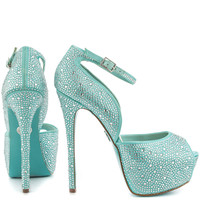 Something Blue by Betsey Johnson - Kiss - Blue