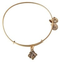 Alex and Ani Bumblebee Charm Bangle - Russian Gold