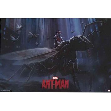 Ant-Man Marvel Comics Poster 22x34