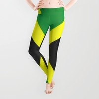Jamaica Flag Leggings by DaddyDan360