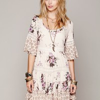 Free People Dream Cloud Print Dress