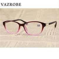 Vazrobe Reading Glasses Women +100 125 175 225 275 325 375 Pearl Female Grade Points for Woman Reader diopter magnifies 150 250