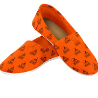Cleveland Browns Women's Official NFL Slip On Canvas Shoe