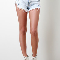 Fall Out High Waisted Shorts