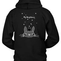 Pusheen My Neighbour Hoodie Two Sided