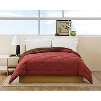 Pem America CF7211BBQN-1400 Villa Burgundy and Brown Full/Queen Comforter - (In No Image Available)
