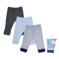 Luvable Friends Baby Boy Pants Cotton Boys Pants Knitted Toddler Girl Leggings Elastic Waist Pant Trousers Baby Clothes