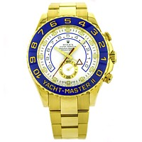 Rolex Yacht Master II in 18k Yellow Gold Automatic Watch for Men 116688