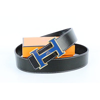 Hermes belt men's and women's casual casual style H letter fashion belt429