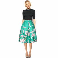 Floral Printed Women Skirt