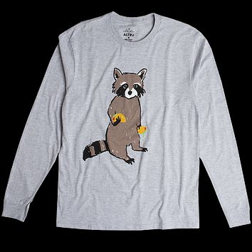 Altru Apparel Taco Bandit Raccoon long sleeve tee