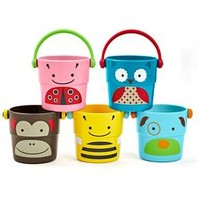 Skip Hop Stack Pour Buckets Bath Toy Multicolor 5Pc : Target